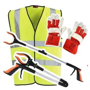 Litter Picking Equipment Set